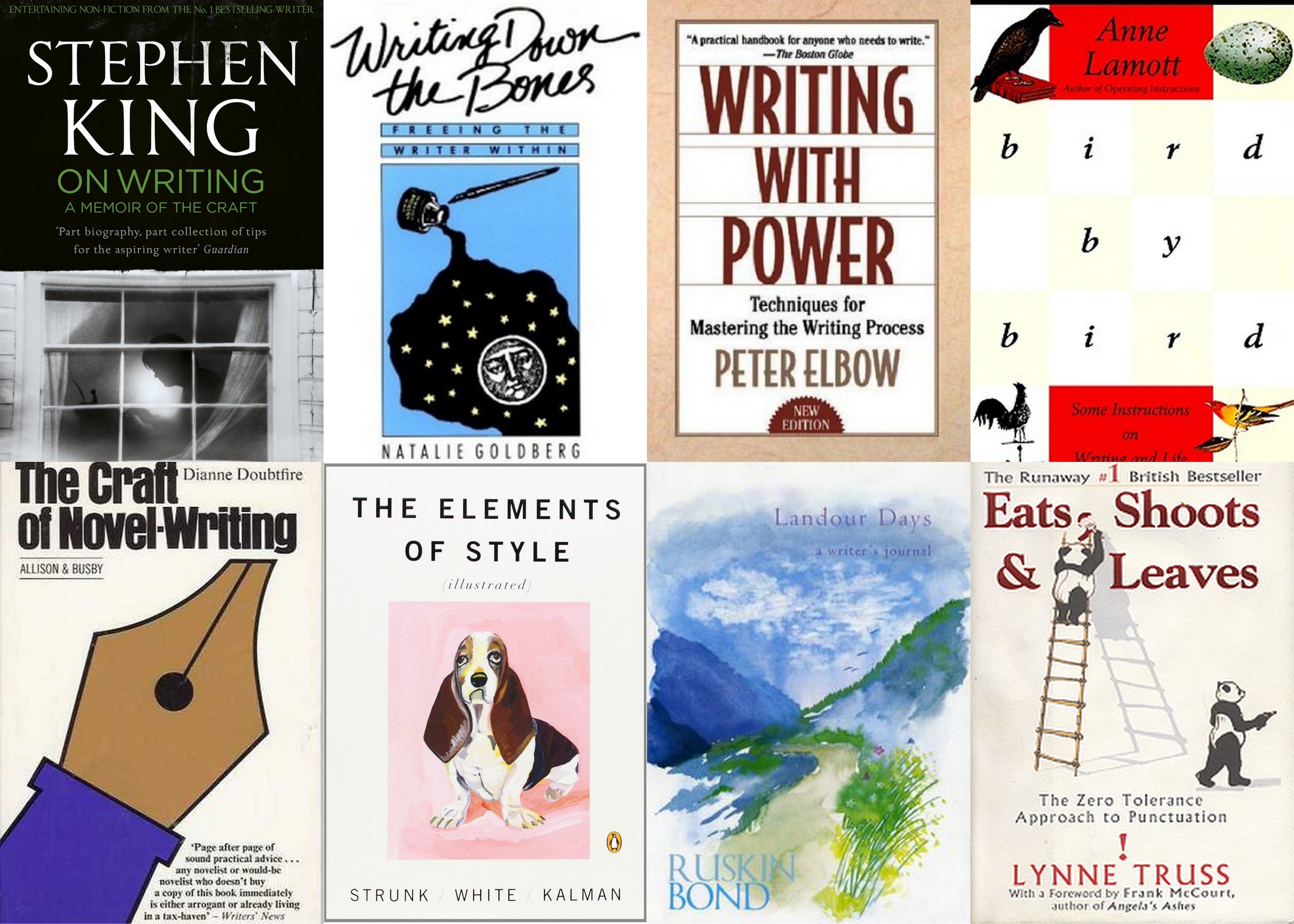 Eleven Takeaways from Writing Reviews of Books on Writing  