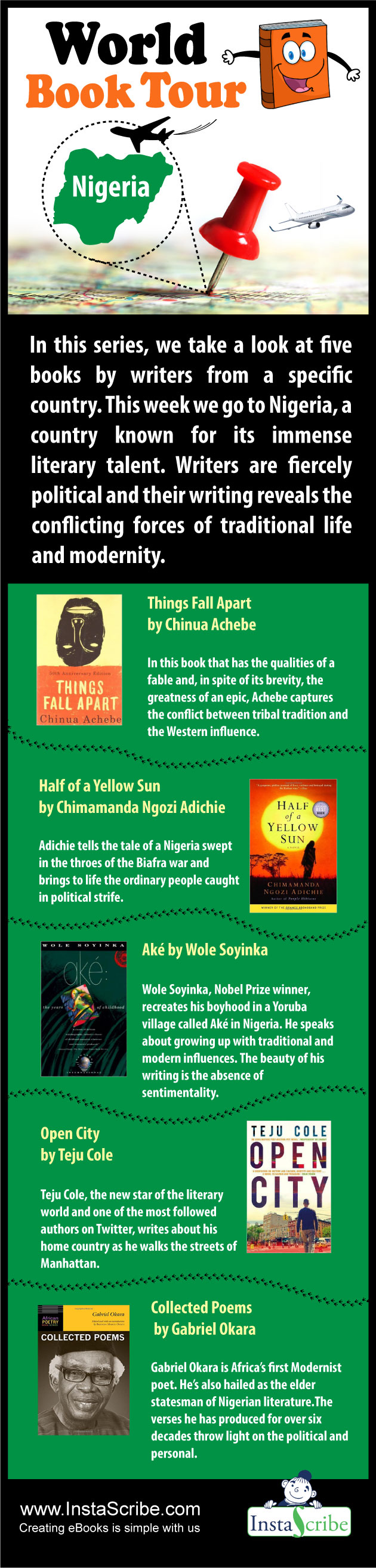a look at the literature on nigeria as a country
