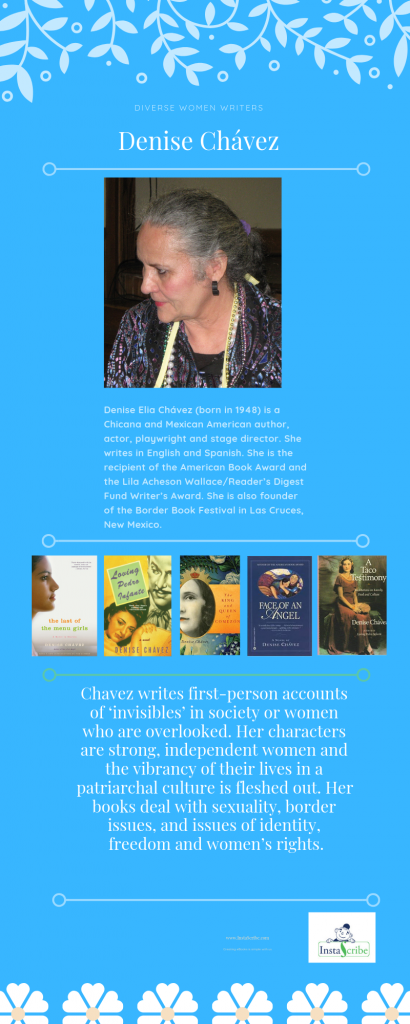 Visual Friday: Diverse Women Writers – Denise Chávez |